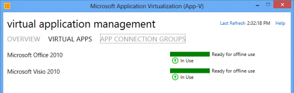 Both Office and Visio are available