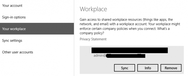 Sync, get information or remove it from Microsoft Intune