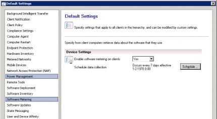 Software Metering in Configuration Manager 2012   Enterprise