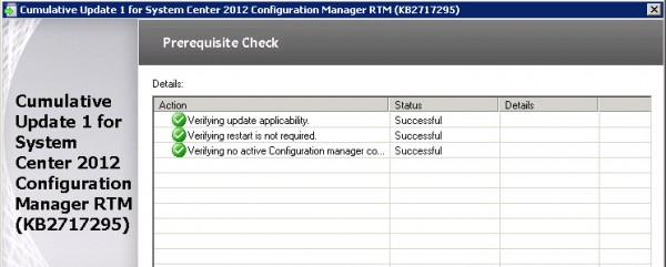 How to reinstall Configuration Manager 2012 RTM CU1