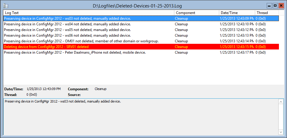 How to cleanup in AD deleted devices via Powershell in