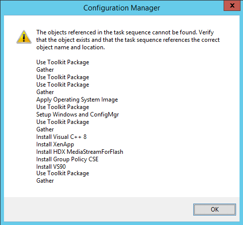 Migrating MDT task sequences in ConfigMgr without deleting MDT tasks