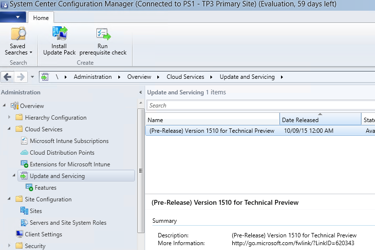 Coming up: ConfigMgr updates and servicing, a new way of updating