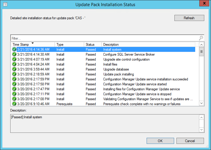 How to upgrade a complete ConfigMgr hierarchy via updates